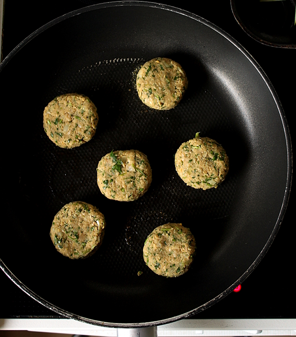 Falafel in Pan-foodforfreude