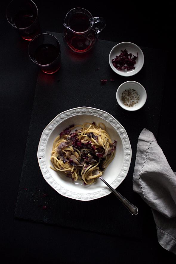 Spaghetti Radicchio Carbonara_IMG_5050_1-foodforfreude